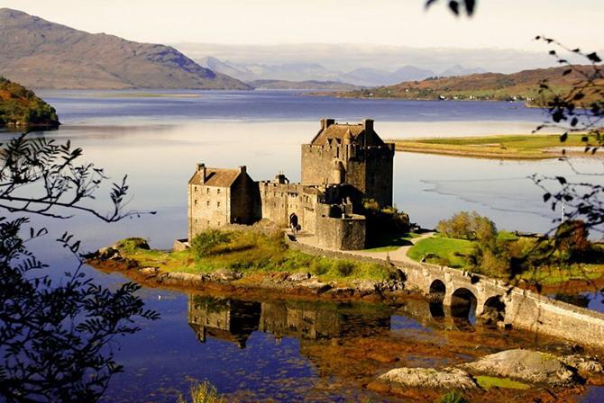 Замок Ейлен-Донан, Шотландія.