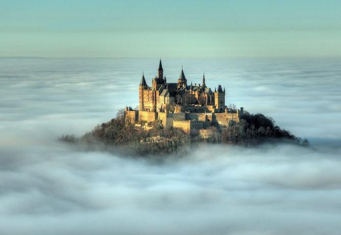 Замок Гогенцоллерн, Німеччина.
