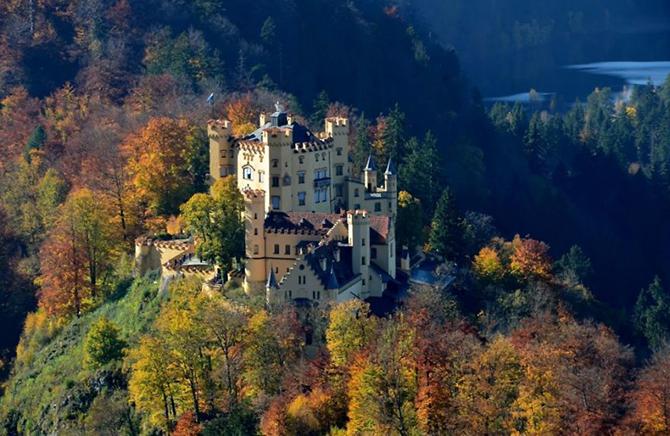 Замок Хоеншвангау, Німеччина.