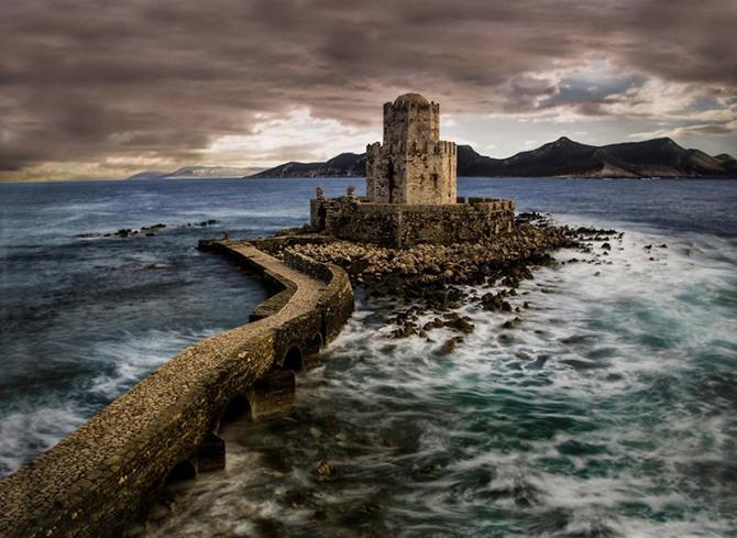 Замок Метоні, Греція.