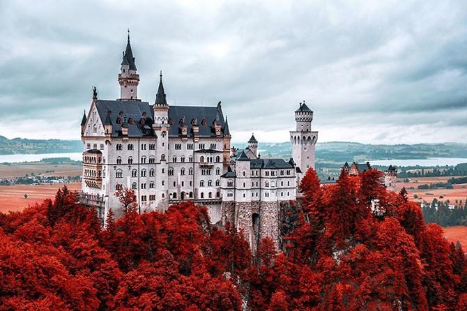 Замок Нойшванштайн, Німеччина.