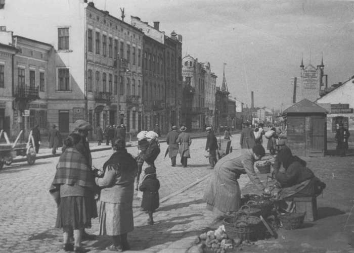 Вид на вулицю Жовківську у міжвоєнний період