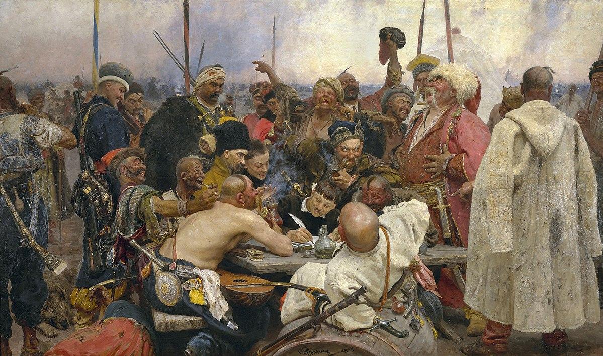 Характеристика українців та росіян у картинах Рєпіна (Відео)
