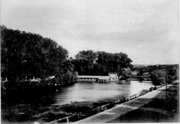 Панянський став на фото Кароля Блейма, 1893 рік