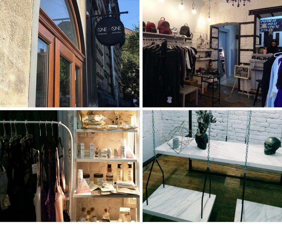 ONE:ONE showroom and coffee