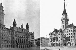 Львівська ратуша якої ми не побачимо. Чотири проекти 1908 року