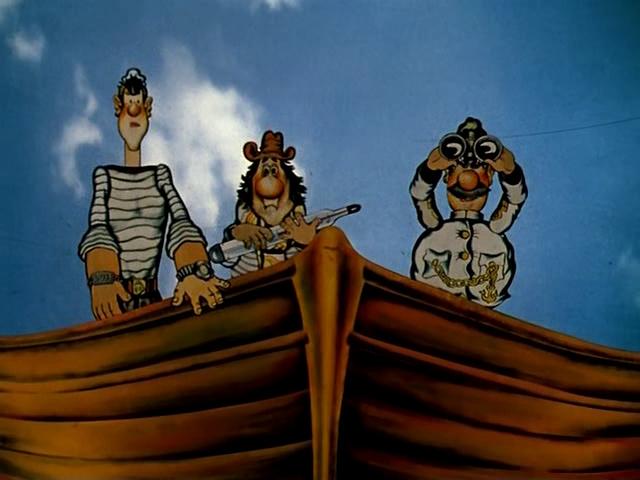 3. Пригоди капітана Врунгеля (1979) – мультсеріал режисера Давида Черкаського, створений за сюжетом однойменної повісті Андрія Некрасова.