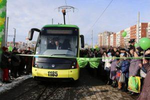 Три роки тому у Львові запустили трамвай на Сихів. Відео