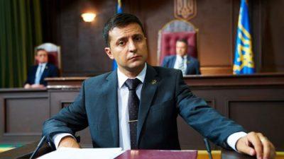 Зеленський розповів, кому б він поступився місцем кандидата в президенти