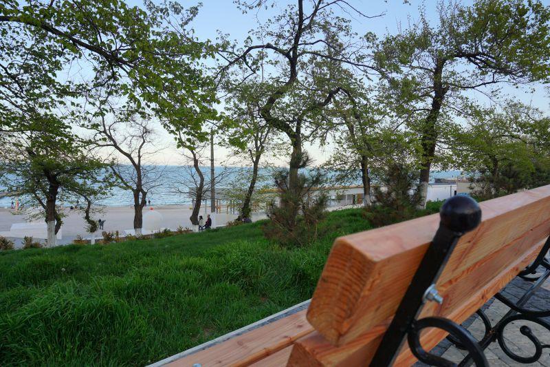 На фото: пляж в Одесі