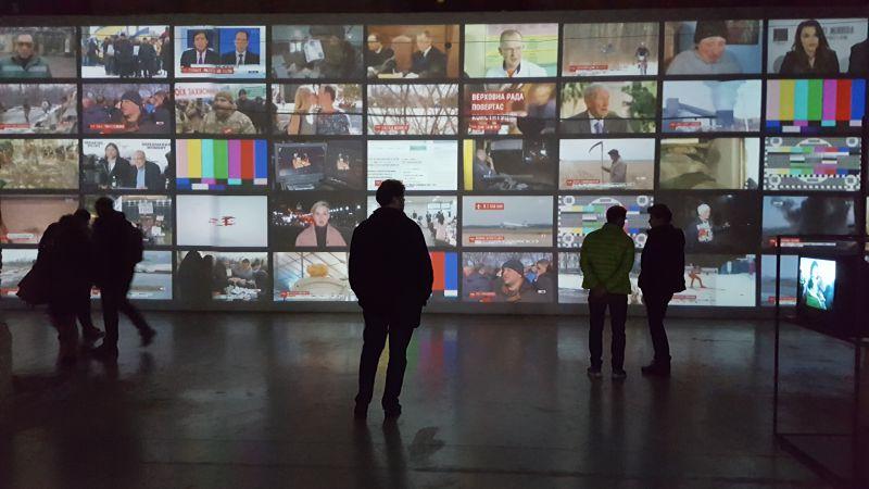 На фото: Музей новин в «Мистецькому Арсеналі», Київ