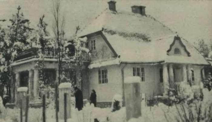 Вілла Генріка Заремби у Брюховичах, де трапилась трагедія. Фото поч. 1932 року