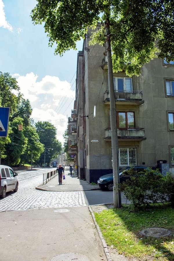 Забудова сучасної вулиці Вітовського, місце де знаходився Панянський став. Фото 2015 року