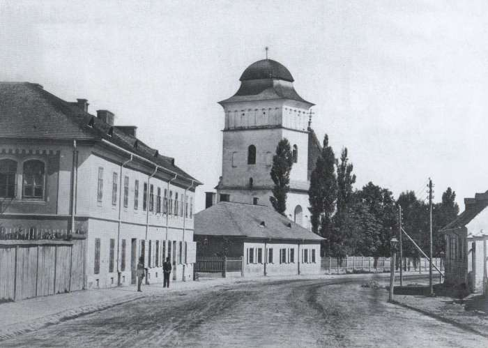 Церква Параскеви Пятниці XIII -XVII сторіччя. Фото др.пол. XIX ст.