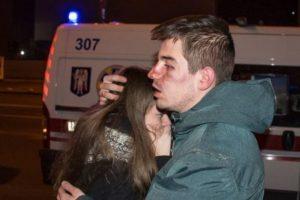 У центрі Києва співробітники піцерії побили своїх відвідувачів (ВІДЕО)