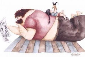 """""""Тато завжди на моєму боці"""". Українська художниця ілюструє особливий зв'язок доньки та батька"""
