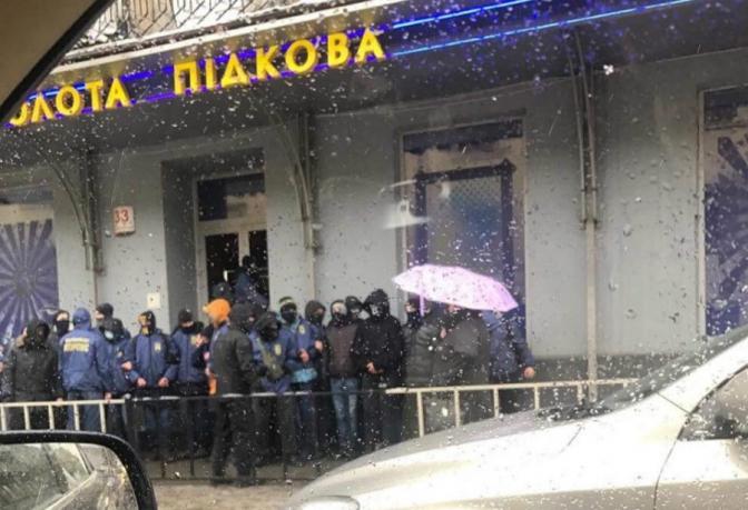 У Львові громили приміщення лотереї «Золота підкова»