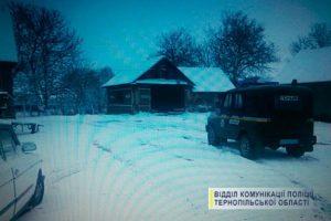 На Тернопільщині п'яний чоловік вкрав трактор в комунальників, щоб почистити від снігу дороги в селі