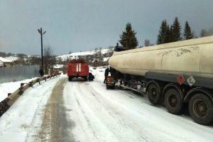 Зима на Львівщині: за добу допомоги надзвичайників потребувало майже 60 автомобілістів