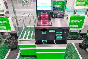 У мережі українських супермаркетів з'явилися каси самообслуговування (фото)
