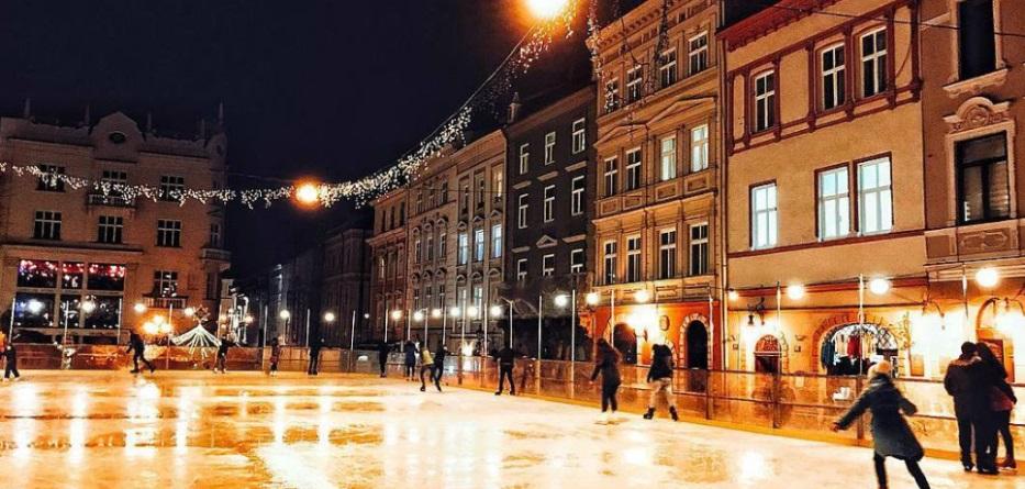 Де покататись на ковзанах у Львові  ціни a4eeae319387c