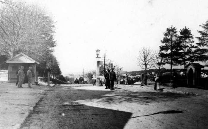 Личаківська рогатка на початку XX соріччя