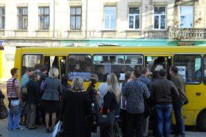 У Львові пропонують підняти вартість проїзду в маршрутках до 8 грн