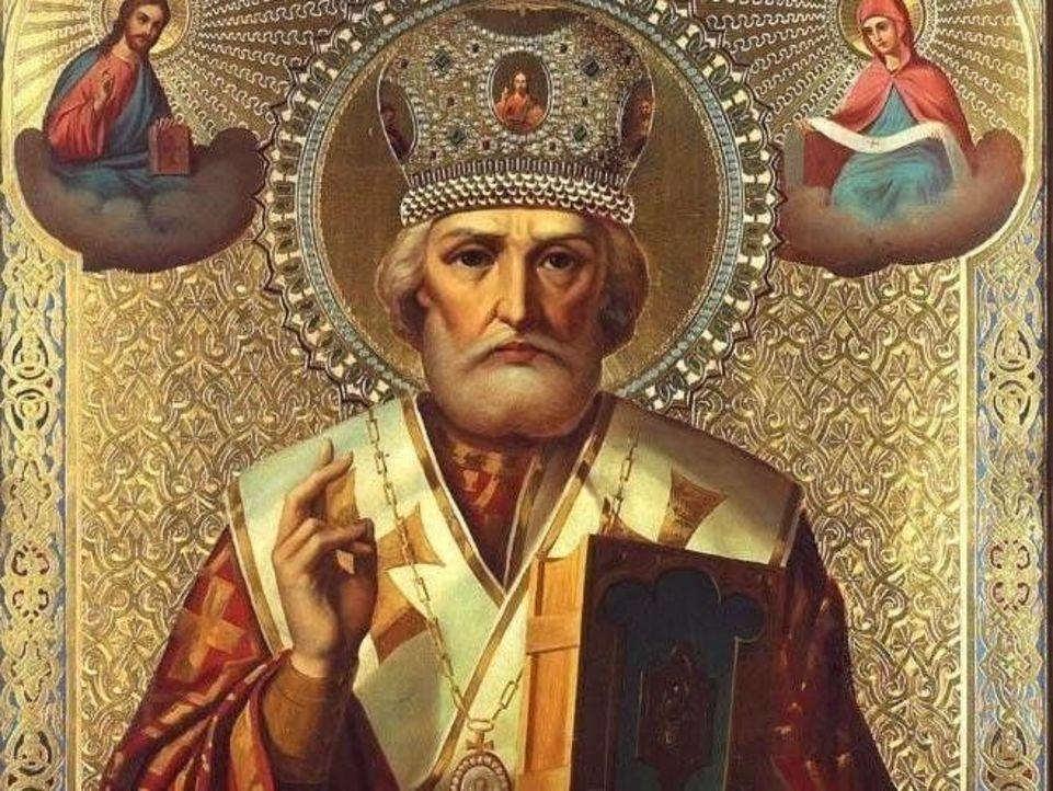 святий миколай ікона