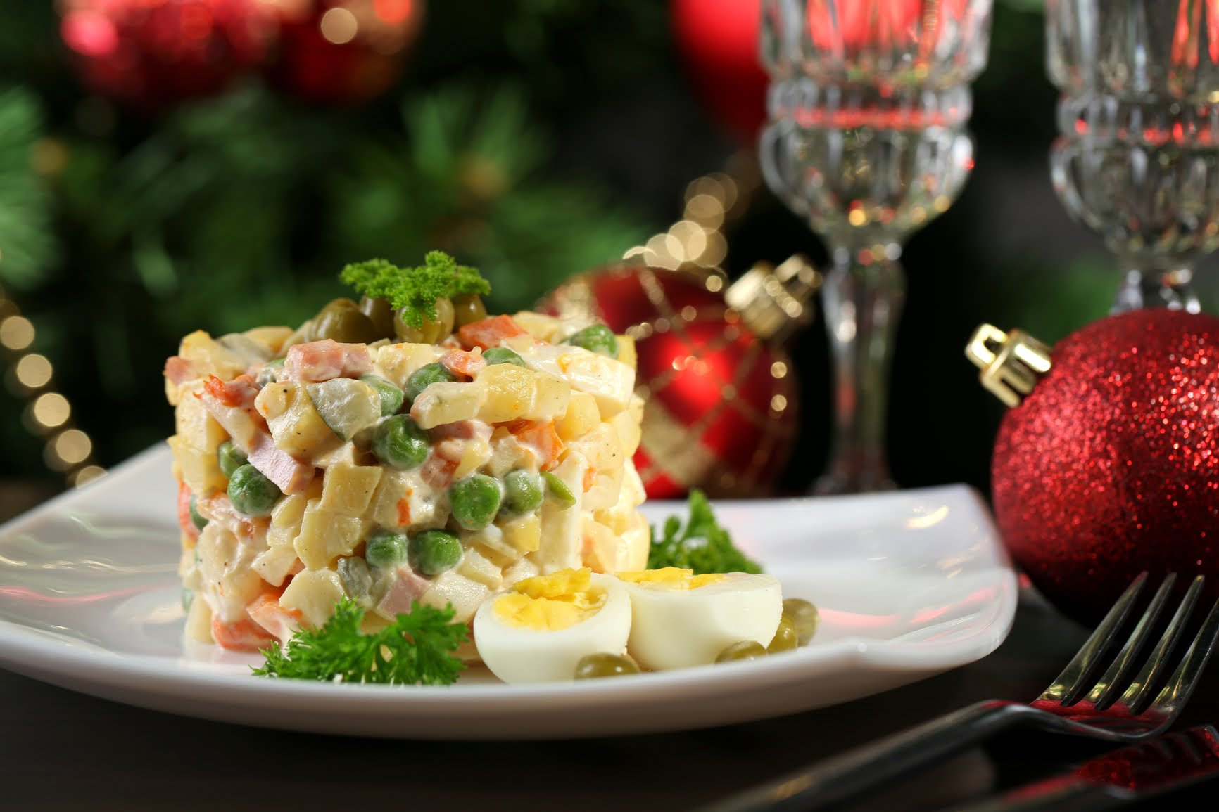 новий рік салат