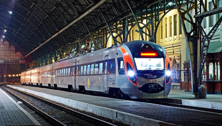 Укрзалізниця потяг інтерсіті