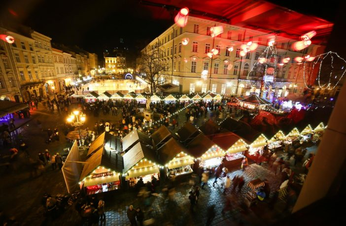 Christmas in Lviv, Christmas market