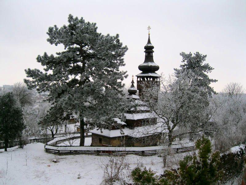 Шелестівська церква в музеї