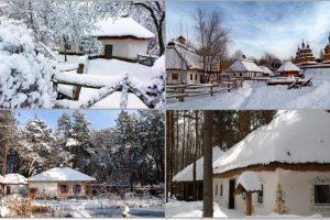 Зимова подорож в українську старовину: 10 найцікавіших музеїв під відкритим небом у різних куточках України для подорожей взимку (фото)