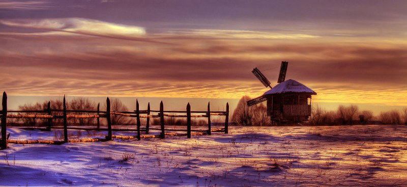 Зима в Пирогово (автор vibas)