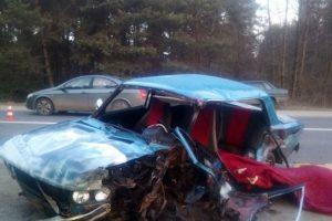 На Львівщині зіткнулися автомобілі. Загинув водій