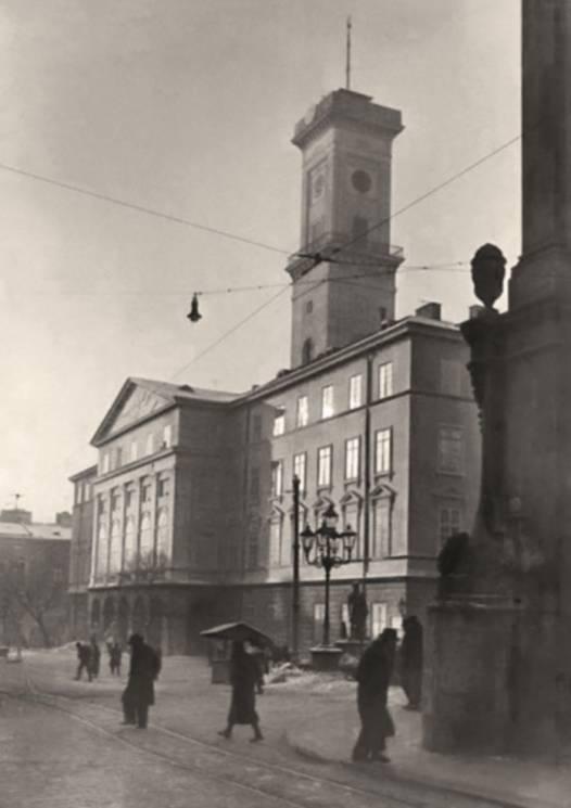фото зимового Львова 1941 року
