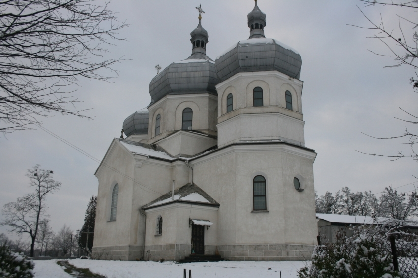 унікальна церква на Львівщині