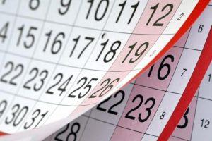 Календар церковних, професійних та міжнародних свят на ВЕРЕСЕНЬ 2019 року