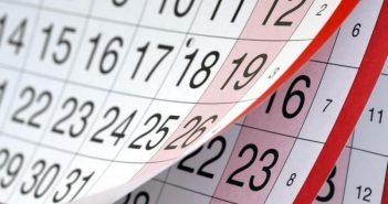 вихідні календар