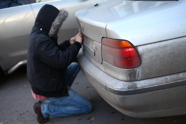 грабіж машини