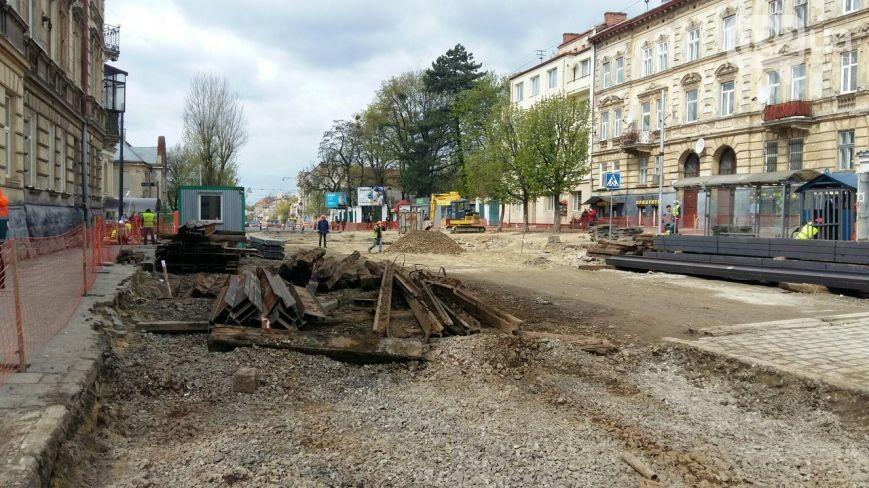 ремонт вулиці личаківська