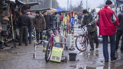 Львівський Шанхай. Фоторепортаж із блошиного ринку