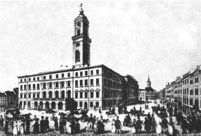 Львівська Ратуша перед 1848 р