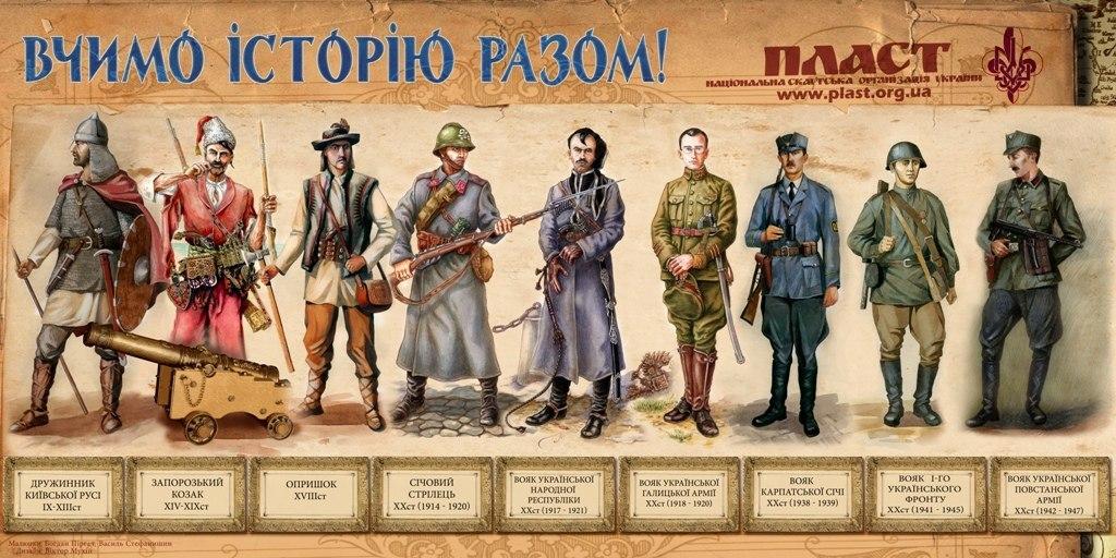 Від козаків до кіборгів. Українські воїни всіх часів. Якими вони були, за що, проти кого та як боролись (фото)