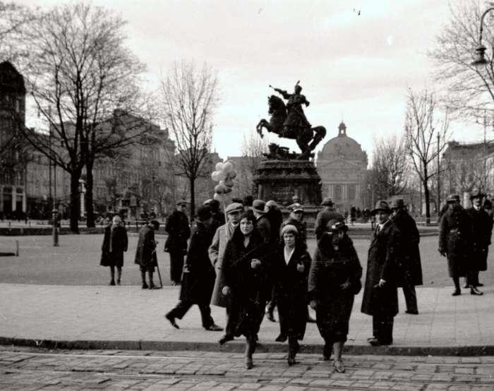 Сучасний проспект Свободи. Фото до 1939 року