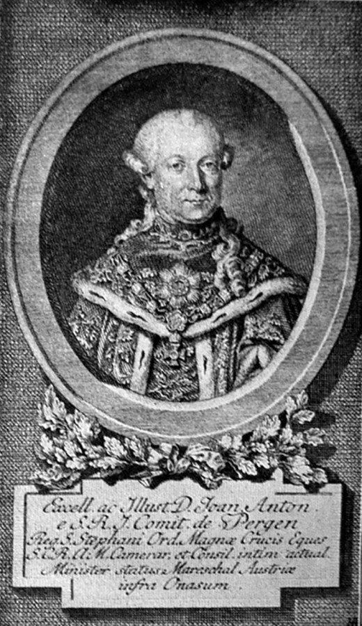 Перший губернатор Галичини граф Йоганн Баптист Антон Перґен