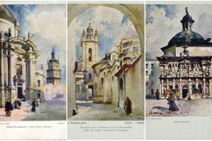 23 міських пейзажі Львова Станіслава Тондоса