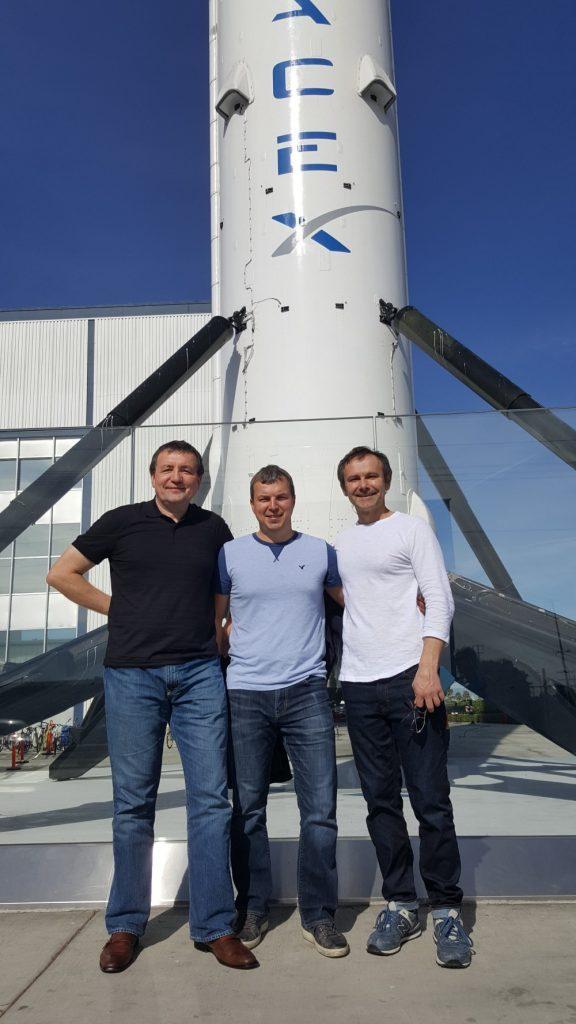 Олексій Пахунов розповів про роботу в компанії SpaceX.