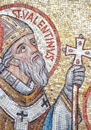 мозаїка святий валентин