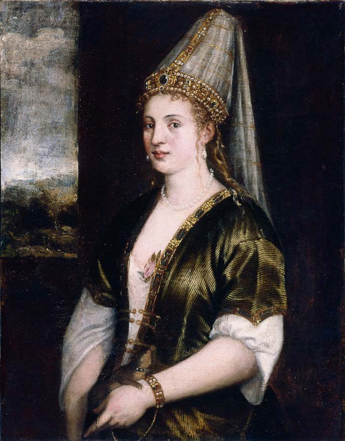 «La Sultana Rossa», картина роботи Тіціана, 1550-ті роки. Джерело: Wikipedia